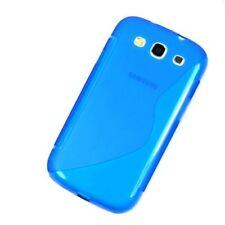 Fundas y carcasas lisos de silicona/goma para teléfonos móviles y PDAs Samsung