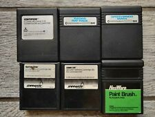 Commodore 64 C64 Cartridge Lot of 6 Games & Software, Centipede, Tested & Work!