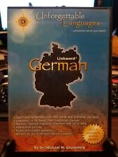Pre-owned ~ Unforgettable Languages German by Dr. Michael M. Gruneberg Pc