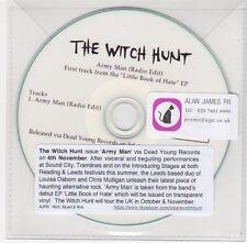 (FC189) The Witch Hunt, Army Man - 2013 DJ CD