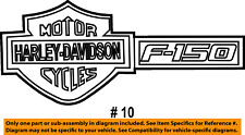 FORD OEM 2012 F-150 Front Fender-Emblem Badge Nameplate Left AL3Z16720B