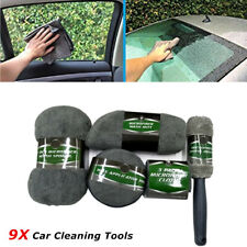 9* Premium Polyester Car Wash Kit Auto Detailing Supplies for Interior Exterior