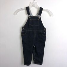Baby Boy Overalls18 Months Blue Cotton Jean Overall Petite Bateau