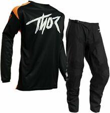 "2020 Thor Sector Link Black Orange Offroad MX Motocross Race Kit Gear 34"" Large"