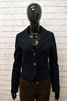 Giacca CALVIN KLEIN Donna Taglia Size M Maglia Blazer Jacket Woman Blu Elastico
