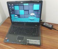 "Notebook Acer Travelmate 2,2GHz 250GB 3GB 15,4"" Turion X2 RADEON TOP ZUSTAND!"