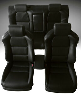 For 07 08 Acura TL Seat Cover Replacements Upholstery Perforated PU Leather Set