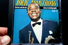 Louis Armstrong - A Musical Autobiography, Vol. 1  -  CD, VG