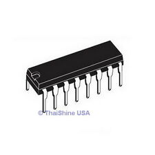 5 x CD4026 4026 IC CMOS Counters Decade/Divider - TEXAS