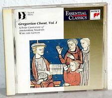 CD Gregorian Chant Vol.1 - Schola Cantorum Of Amsterdam Students-Wim van Gerven