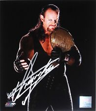 WWE UNDERTAKER HAND SIGNED AUTOGRAPHED PHOTOFILE PHOTO WITH EXACT PIC PROOF 4