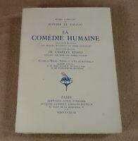 OEUVRES COMPLETES DE BALZAC 12 LA COMEDIE HUMAINE - EDITIONS LOUIS CONARD 1949