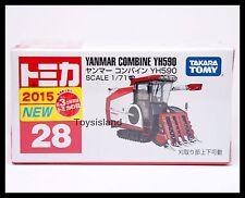 TOMICA #28 YANMAR COMBINE YH590 1/711 TOMY 2015 OCT New Diecast Car