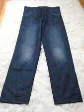 Casual Sex Women's Jeans Size 38 Dark Wash 1+1=2 Jean's Logo Inseam 34.5 Inches