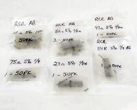 Mixed Lot of (400) Allen Bradley Carbon Composition Resistors