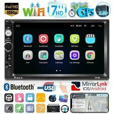 "7 ""Android 9.1 Autoradio 2DIN GPS Navi WiFi Bluetooth Radio FM Reproductor MP5"