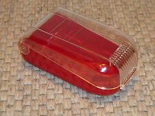 RASOIO-Astuccio in plastica in rosso