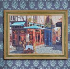 Wall Painting Picture Canvas Wooden Frame Art Modern Design -Restaurant