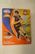 ADELAIDE CROWS -  Smiths Crisps - Future Legend - Footy Legends - Chris Knights.