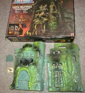 Vintage MOTU Masters Of The Universe - Castle Grayskull W/Box & Jawbridge