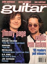 Guitar for the Practicing Musician March 1994 - Jimmy Page, Eddie Van Halen