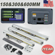 "US! 6"" 12"" 24"" TTL Linear Glass Scale 3Axis Digital Readout DRO Bridgeport Mill"