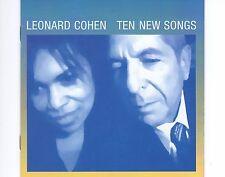 CD LEONARD COHEN ten new songs EX 2001