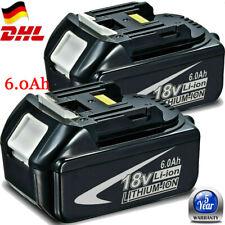 2x Für Makita BL1860 18V 6,0AH LXT Li-ion Ersatz Akku BL1850 BL1840 BL1830 DE