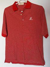 Men's Size Large Fairway & Greene Mauna Lani Red Golf Shirt Pre-Owned