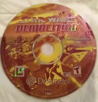 Star Wars: Demolition (Sega Dreamcast, 2000) Disc ONLY   Tested