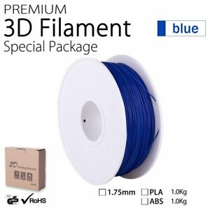 1.75mm 3D Printing Filament 1KG ABS FDM Printer Engineer Drawing Art Blue