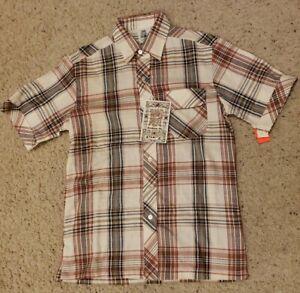 Vtg Kennington Men's Medium Western Shirt Plaid NWT