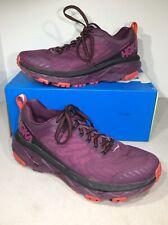 Hoka One One Challenger ATR 5 Women's Sz 8.5 Purple Trail Running Shoes X3-587