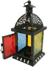 Beautiful Black Moroccan Style Lantern + FREE GIFT