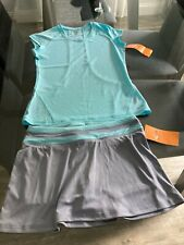 Champion Tennis Outfit - DuoDry Women's Top (XS) & Skirt (S) - NEW w/Tags