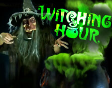 Witching Hour DVD Halloween Prop Special FX Horror Projector Ghosts Witches Cats