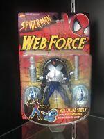New 1997 Toy Biz Spider-Man Web Force Web-Swamp Spidey Figure Marvel Comics