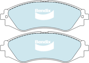 Brake Disc Pad Set Front Bendix DB1370 GCT For DAEWOO HOLDEN LACETTI LEGAZA NUBI