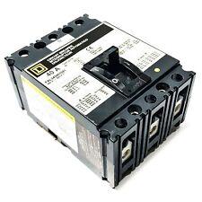 Fal340401021 Square D Circuit Breaker, 40 Amp, 3-Pole, 480Vac/250Vdc, Shunt Trip