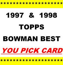 1997-98 & 1998-99 ~ Bowman's Best Basketball ~ YOU PICK CARD