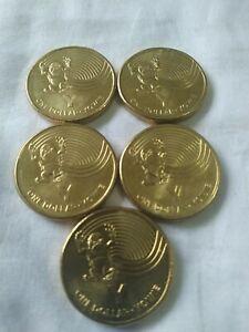 2019 Australia Post 'Y' Yowie $1 Circ - 1 coin - dollar GACH