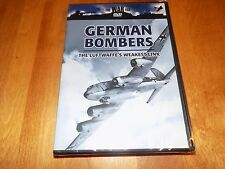 THE WAR FILE GERMAN BOMBERS The Luftwaffe's Weakest Link Nazi Air WWII DVD NEW