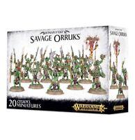 Warhammer Age of Sigmar - Savage Orruks - Ironjawz - Brand New - Free Shipping