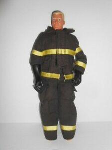 "GI Joe Firefighter Fireman 11""  Poseable Metro Fire Dept Hasbro Action Figure"