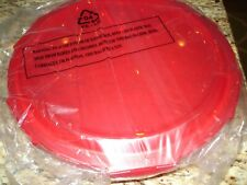 Lock & Lock Glass Pie Dish w/ Red Lid