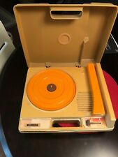 Fisher-Price 825 Child's Record Player Turntable 1978 Works!!!