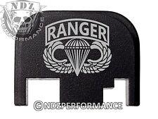 Rear Slide Plate For Glock 17 19 21 22 23 27 30 34 36 40 41 Airborne Wing Ranger