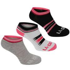 3 x La Gear Trainers Ladies Socks Sports Fitness UK 4-8 EU 37-42 A361-33