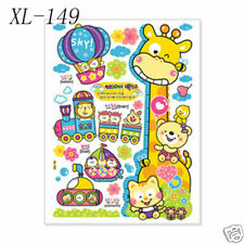 Removable Kids Growth Chart Wall Decal Sticker 54x75cm