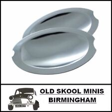 CLASSIC MINI STAINLESS STEEL DOOR HANDLE SCOOPS 8B12500 AUSTIN MORRIS PAIR CB6